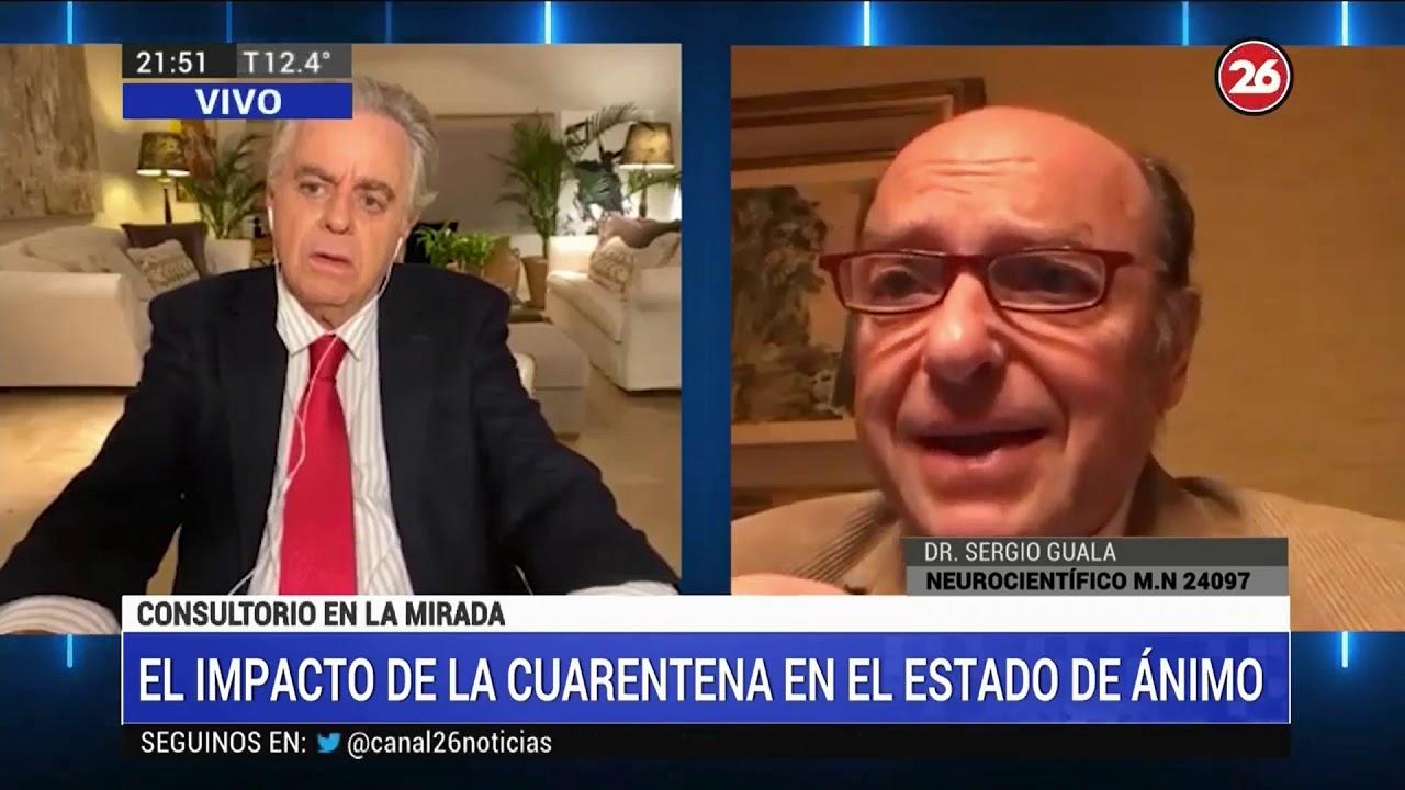 DR. SERGIO GUALA. ¿QUIÉNES SON LOS MÁS AFECTADOS POR LA CUARENTENA? | 21 DE JUNIO DE 2020