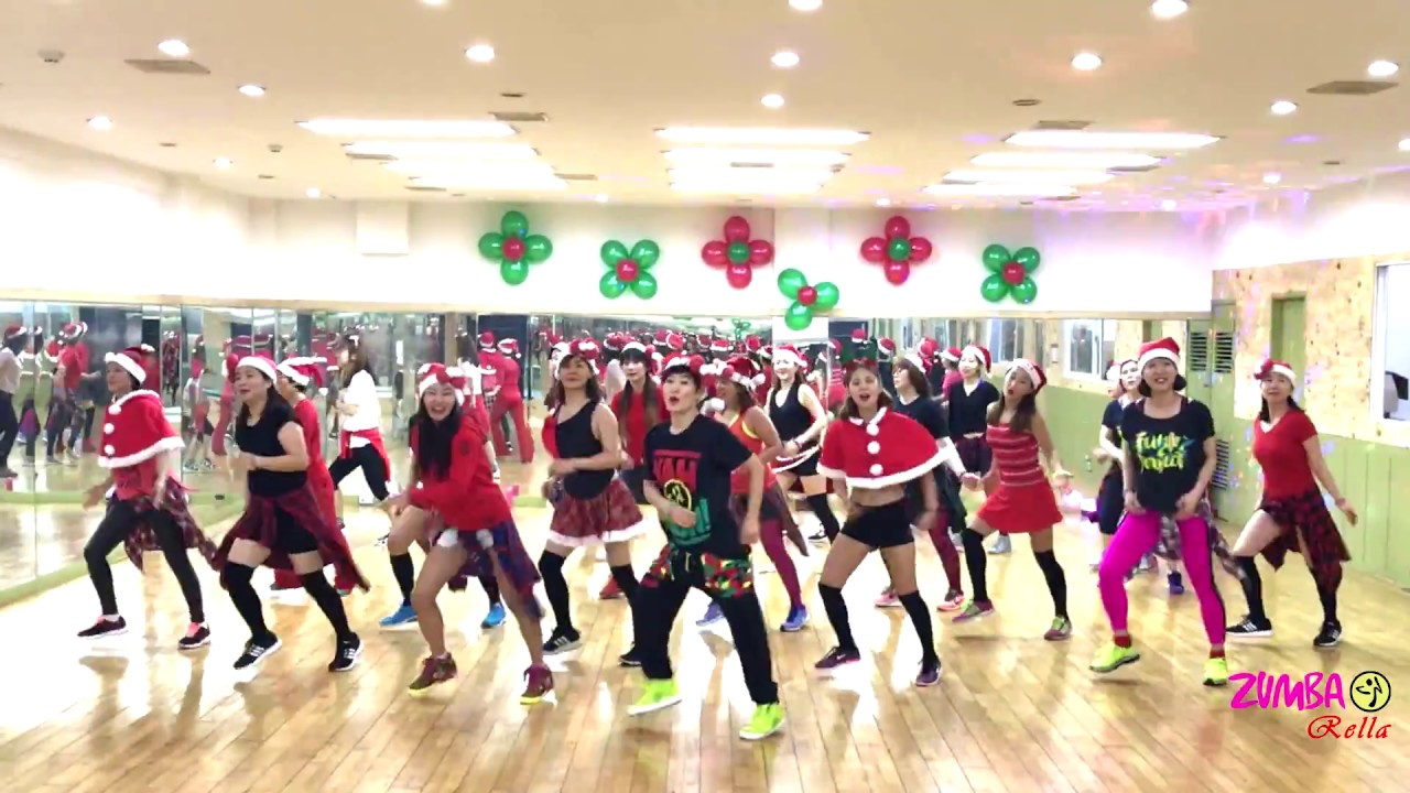 ZUMBA l All I Want For Christmas Is You l MELLISA l KOREA - YouTube