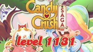Candy Crush Saga Level 1131 - ★★