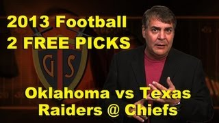 Tony George Free Football Picks October 12th and 13th