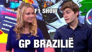 Autobahn F1 Show: Sylvana en Steijn doen de GP van Brazilië