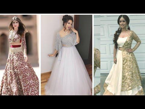 TOP Latest Lehenga Choli Designs 2019// Latest Trend of Net Lehenga Designs 2019 - Party wear net le