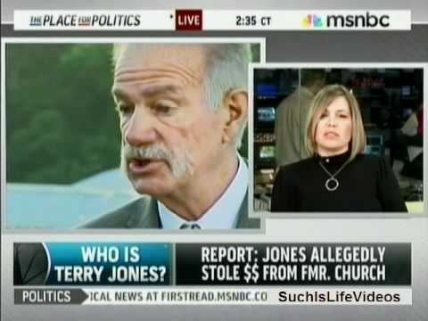 MSNBC: Who Is Pastor Terry Jones?