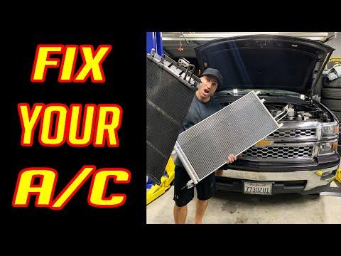 Chevrolet Silverado A/C Condenser Replacement DIY