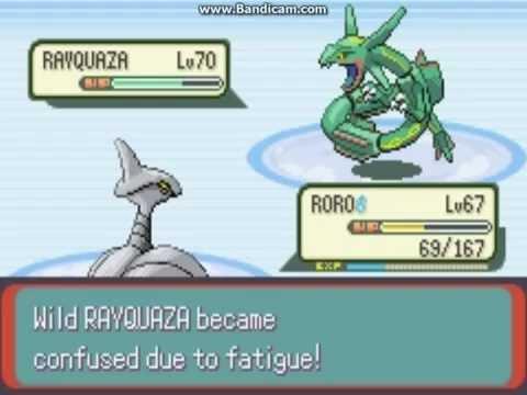 PRG : pokemon emerald ตอนที่ 41 จับRAYQUZA