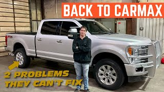 CarMax CAN'T SOLVE These TWO PROBLEMS With My New Ford F-250