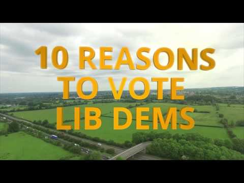 10 reasons to vote for the Liberal Democrats