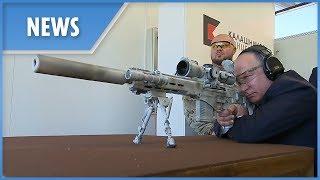 Putin fires new Kalashnikov SVCh-308 sniper rifle prototype thumbnail