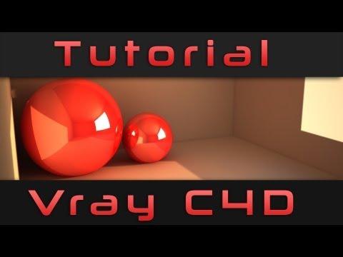 Tutorial como instalar y usar Vray Cinema 4D HD