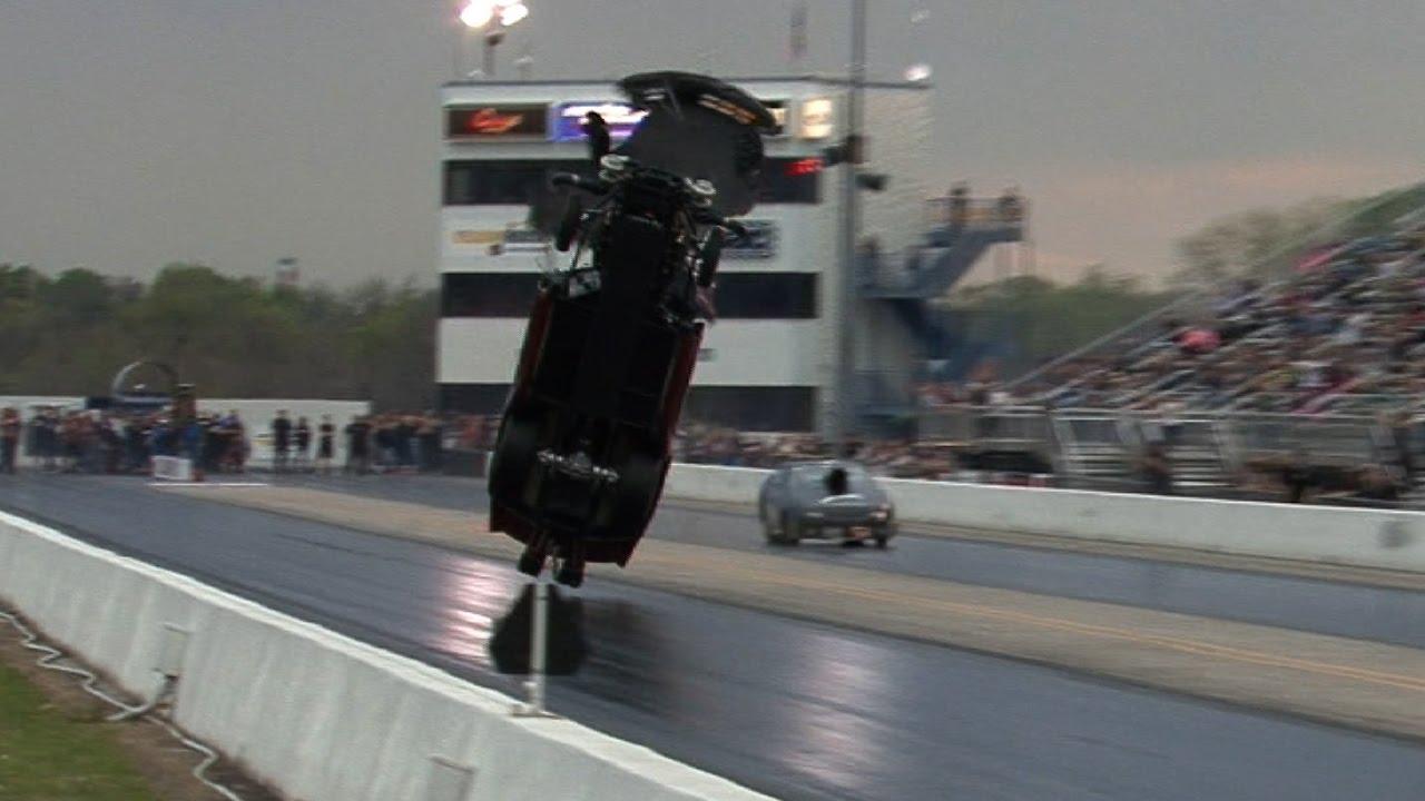 4000hp CORVETTE TAKES FLIGHT !!! Tulsa Raceway Park