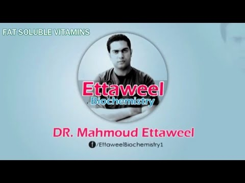 FAT SOLUBLE VITAMINS REVISION by Dr. Mahmoud Ettaweel