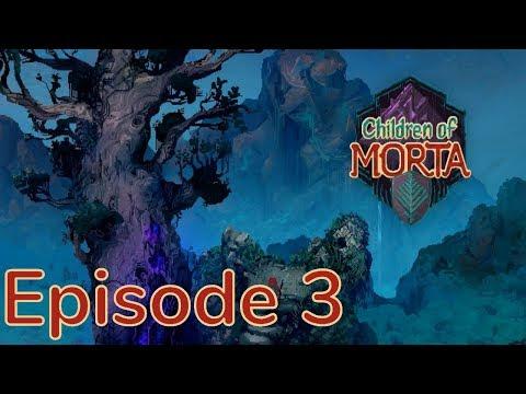 Children of Morta Episode 3 - More Silk Caverns  
