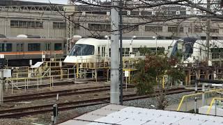 ◆近鉄特急 アバンライナー・ネクストとプラス 近鉄 東花園電車区◆