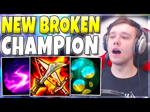 This Champion Is FINALLY OP.. ABUSE!! (GIVEAWAY) - League Of Legends