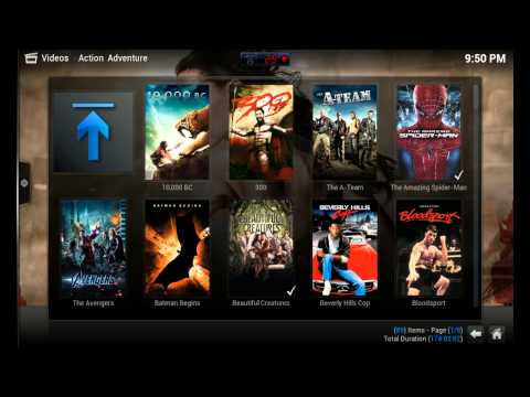 How to add Movies to XBMC