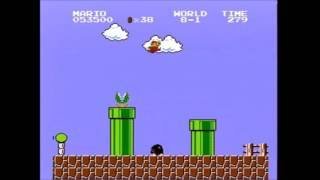 (4:57.627) Super Mario Bros. any% speedrun *Former World Record*