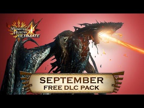 Monster Hunter 4 Ultimate - September DLC Pack