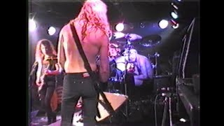 Metallica - Live at The Stone Balloon '89 | 720p60fps [Justice Box Set DVD]