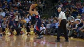 Kyle Korver's 90 Game 3-Point Streak in 90 Seconds