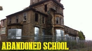 Abandoned School - Badly Fire Damaged (Keil School)