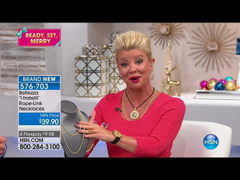 HSN | Bellezza Jewelry Collection 10.05.2017 - 11 AM