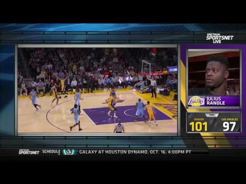 Julius Randle Post Game Interview 10/07/12016