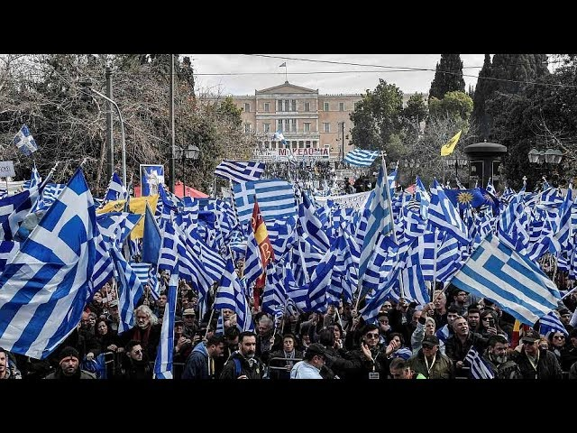Greeks protest against deal over Macedonia name change