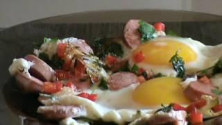 Как приготовить яичницу. Простой рецепт