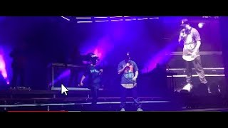 Logic and 12 year old perform Under Pressure at COADM TOUR 2019 Chase Center