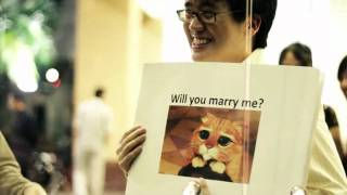 This Guy Proposed to His Girlfriend with Internet Memes
