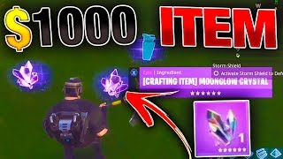 This SUPER RARE Item is Worth $1000 | MOST Expensive Items! | Fortnite Save the World