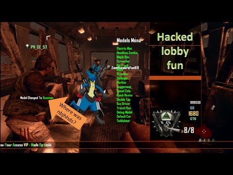 Black Ops 2 - Origins & Tranzit Hacked Lobby with Friends