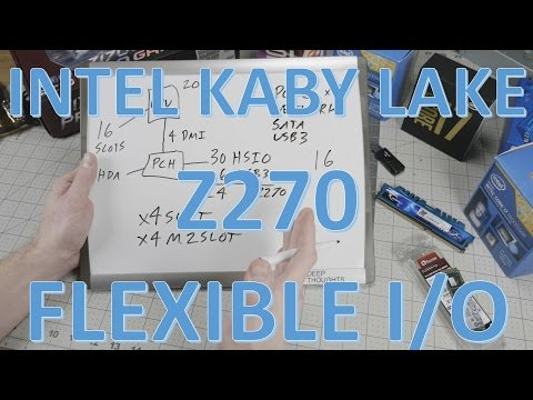 How Intel Kaby Lake Z270 PCH Flexible IO Works