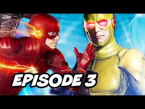 The Flash Season 5 Episode 3 - TOP 10 Easter Eggs and References
