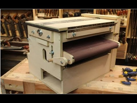 DIY Thickness Sander / Drum Sander - Can you build it? Yes!