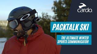 Packtalk Ski - The Ultimate Winter Sports Communicator