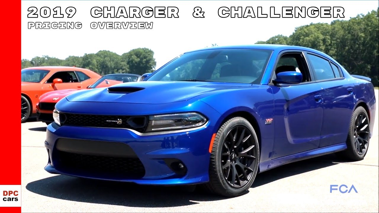 2019 Dodge Charger Challenger Lineup Pricing Overview