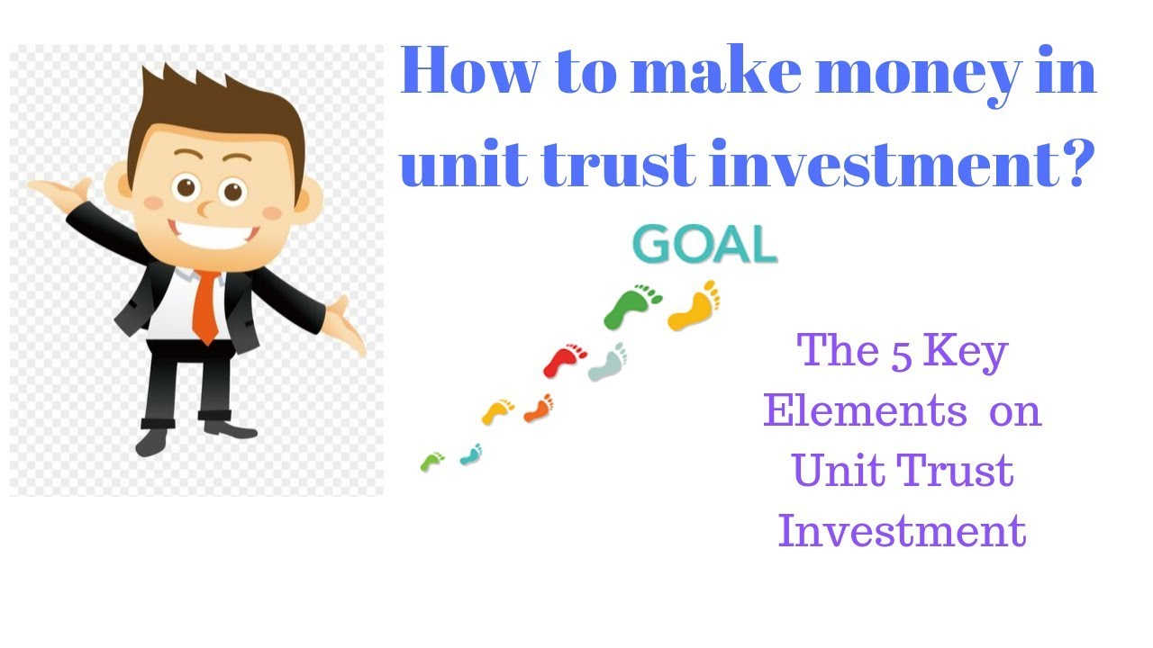 Unit trust investing tips finance investment terminology stocks
