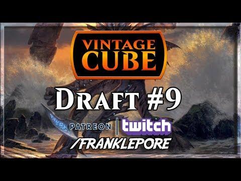 (Magic Online) Vintage Cube Draft #9 - 12/25/18