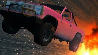 LATE NIGHT STUNT DRIVING (BeamNG.drive)