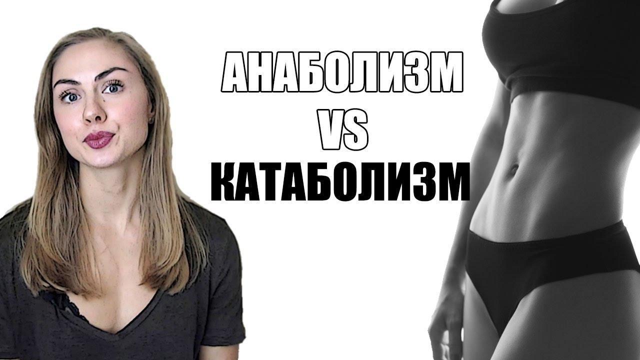 Анаболизм и Катаболизм. Можно ли похудеть и одновременно подкачать мышцы   KATETSPORT a76c725c82d