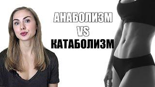 Анаболизм и Катаболизм. Можно ли похудеть и одновременно подкачать мышцы?