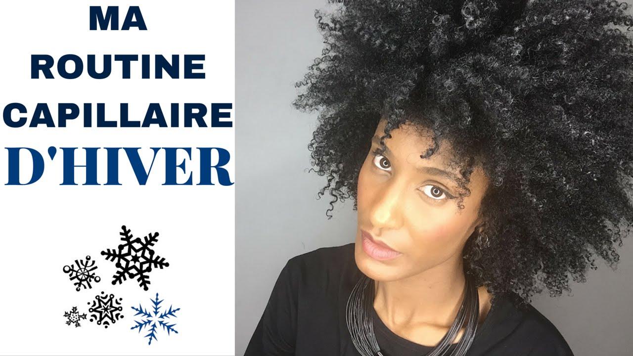 Pousse des cheveux l'hiver