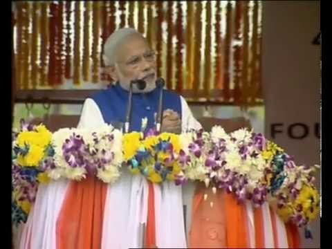 PM Modi launches Hydro Electric Power project & Highway project at J&K