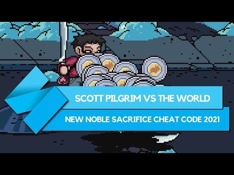 Scott Pilgrim vs The World The Game: New 2021 Noble Sacrifice cheat code