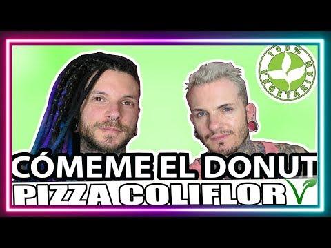 CÓMEME EL DONUT INTRO + PIZZA COLIFLOR (COCINANDO CON MATTHEW)| Trew Unicorn