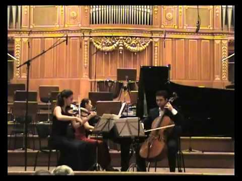 Piano Trio in G minor op. 15, B. SMETANA, 3. mov.