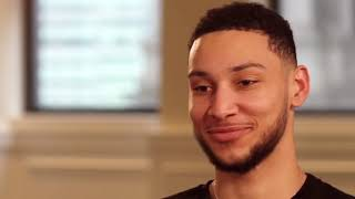 Ben Simmons talking sh*t for 6 minutes with Classical Music in the background.