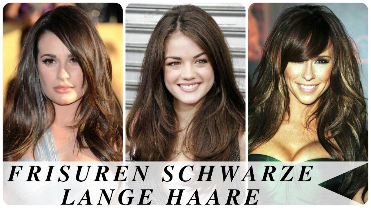 Frisuren Schwarze Lange Haare