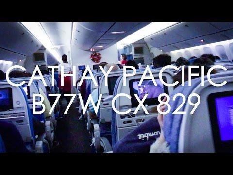 Cathay Pacific CX829 B77W Economy Toronto-Hong Kong